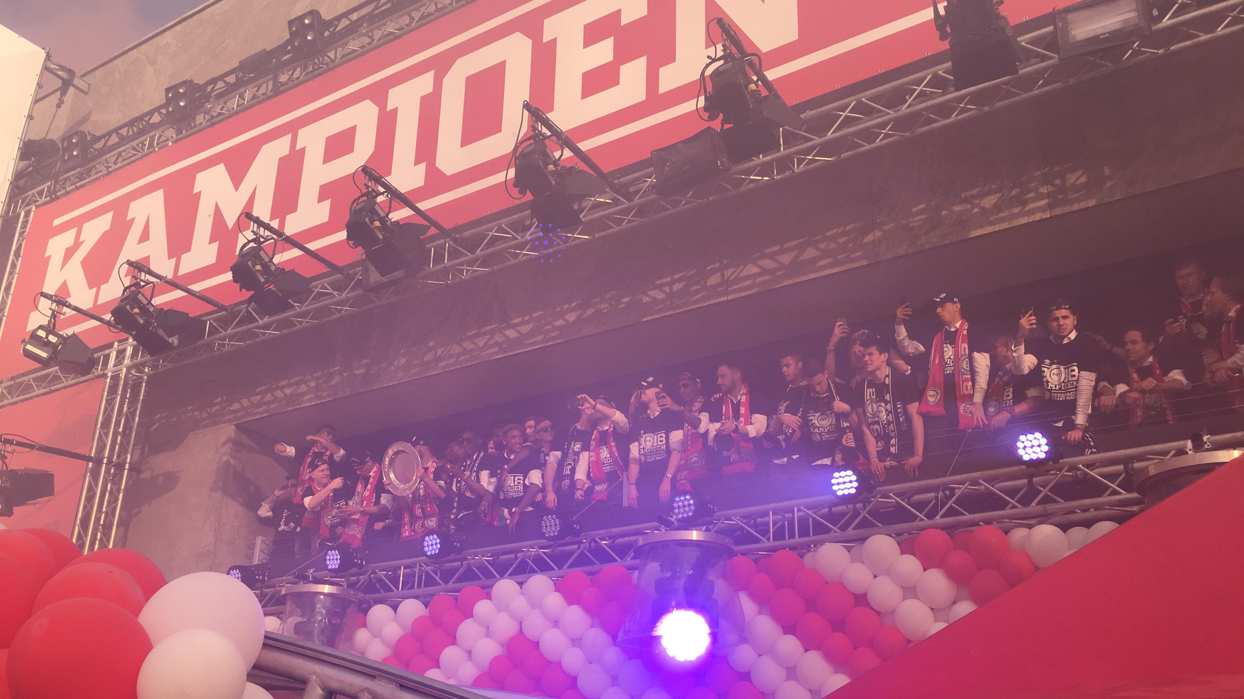 Huldiging PSV