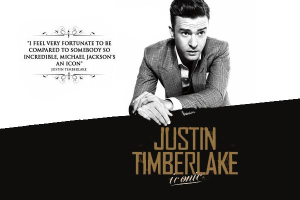 Justin Timberlake Iconic