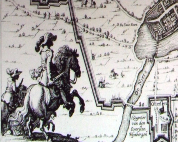 De Genneper Huys Belegeringsroute