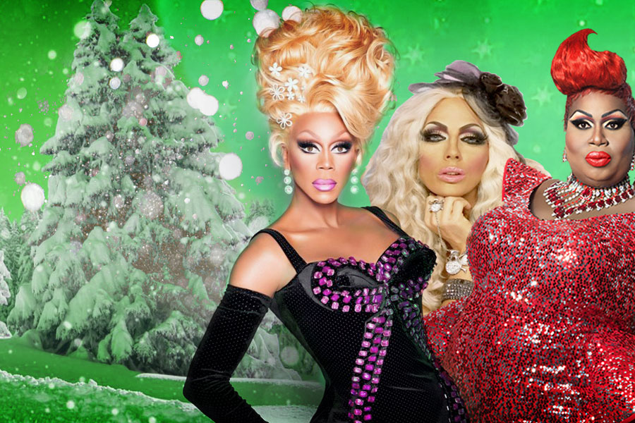 RuPaul's Drag Race I'm Dreaming of a Green Screen Christmas